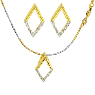 Chain, Pendant and Earring set