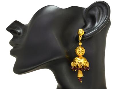 Rose Diamond Earring